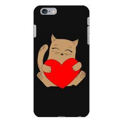 coklat cat holding heart iPhone 6 Plus/6s Plus Case   Artistshot