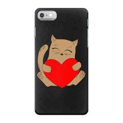 coklat cat holding heart iPhone 7 Case   Artistshot