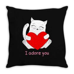 i adore you Throw Pillow | Artistshot