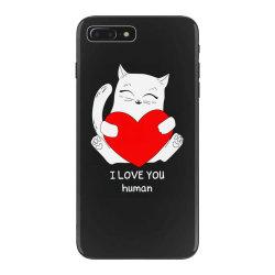 i love you human iPhone 7 Plus Case | Artistshot