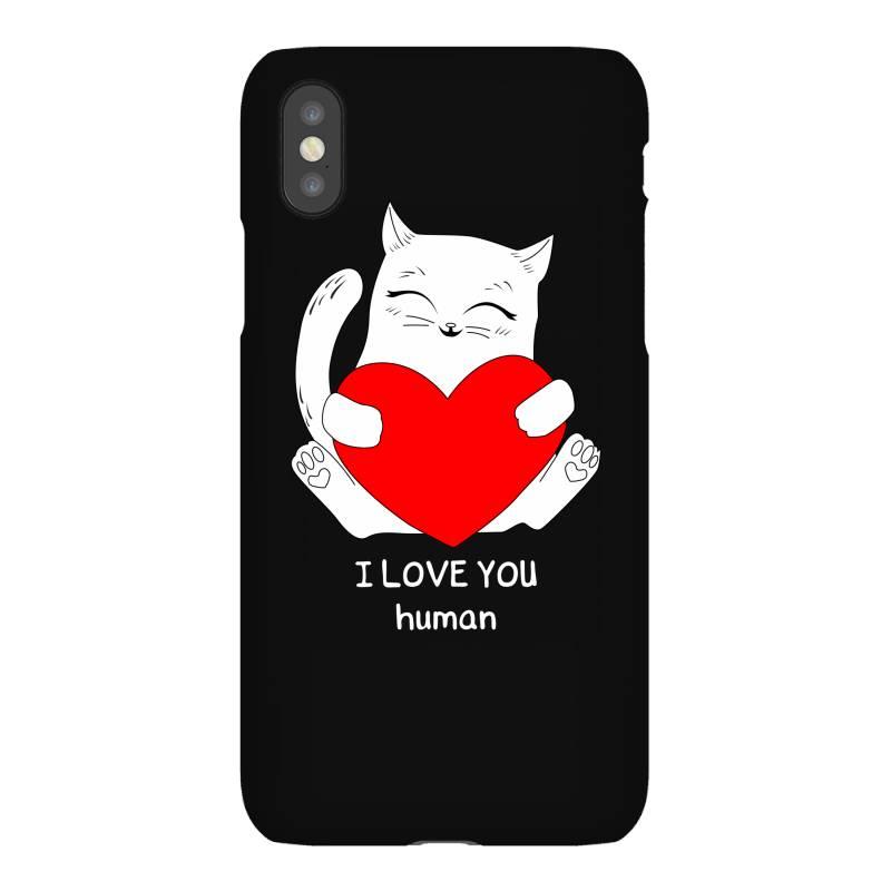 I Love You Human Iphonex Case | Artistshot