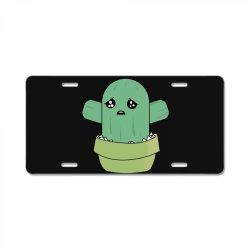 cute cactus License Plate | Artistshot