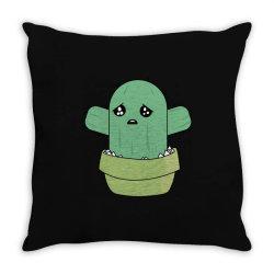 cute cactus Throw Pillow | Artistshot