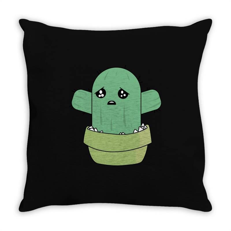 Cute Cactus Throw Pillow   Artistshot