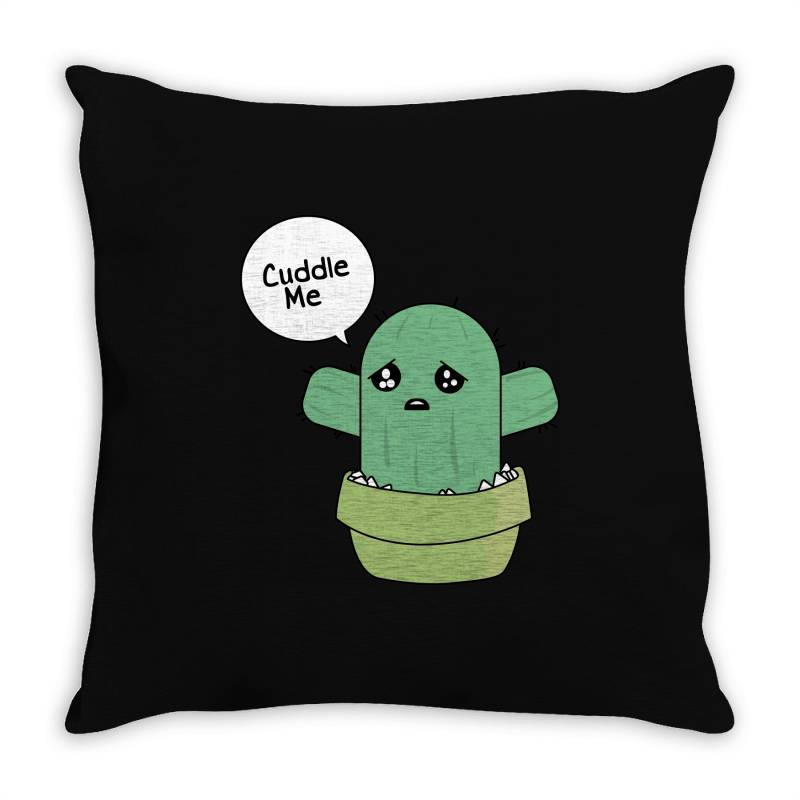 Cuddle Me Throw Pillow | Artistshot