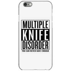 multiple knife disorder iPhone 6/6s Case | Artistshot
