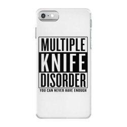 multiple knife disorder iPhone 7 Case | Artistshot