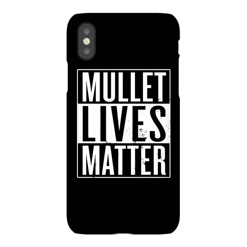 Mullet Lives Matter Iphonex Case   Artistshot
