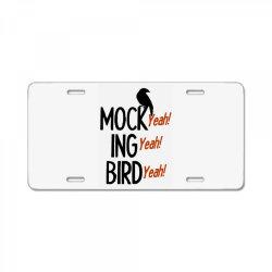 mocking bird License Plate | Artistshot