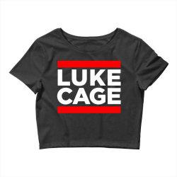 luke cage Crop Top   Artistshot