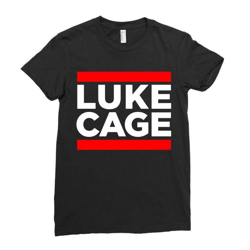 Luke Cage Ladies Fitted T-shirt   Artistshot