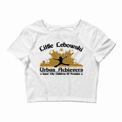 little lebowski urban achievers Crop Top | Artistshot
