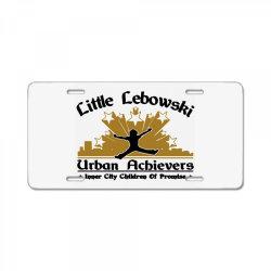 little lebowski urban achievers License Plate | Artistshot