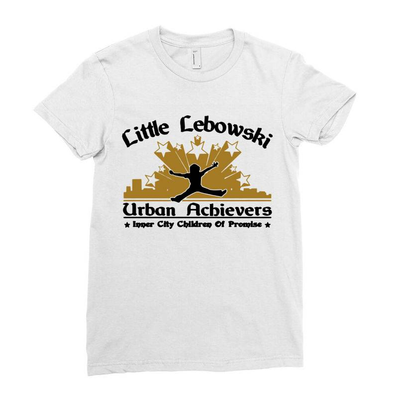 Little Lebowski Urban Achievers Ladies Fitted T-shirt | Artistshot