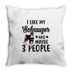 like my schnauzer and maybe Throw Pillow | Artistshot