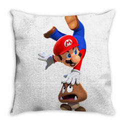 super mario Throw Pillow | Artistshot