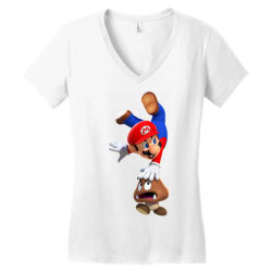 super mario Women's V-Neck T-Shirt | Artistshot