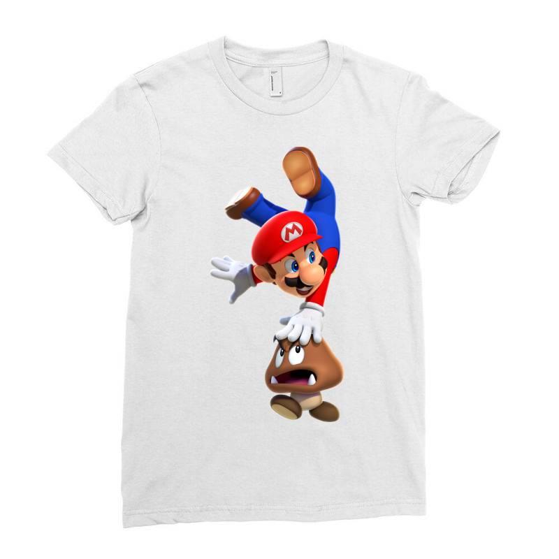 Super Mario Ladies Fitted T-shirt | Artistshot