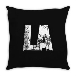 la palm trees Throw Pillow | Artistshot