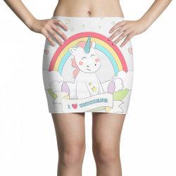 Unicorn cute cartoon art Mini Skirts   Artistshot