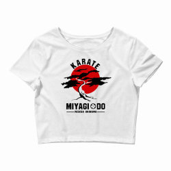 karate miyagi do reseda okinawa Crop Top | Artistshot
