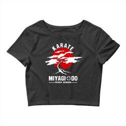 karate miyagi do reseda okinawa Crop Top | Artistshot