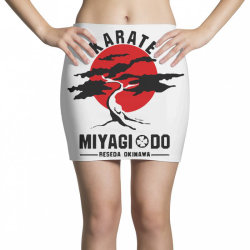 karate miyagi do reseda okinawa Mini Skirts | Artistshot