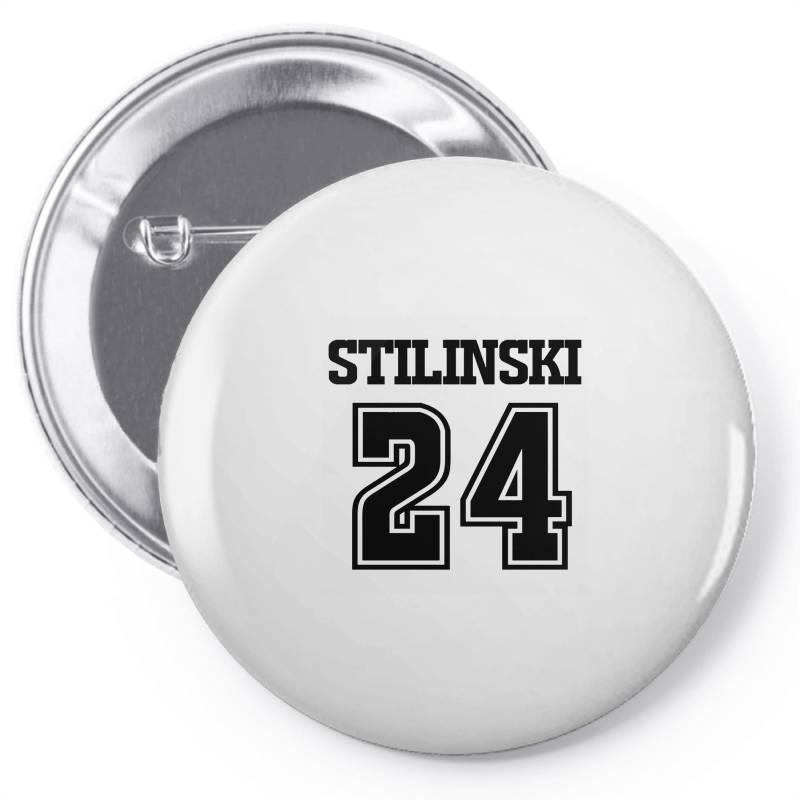 24 Stilinski Lacrosse Pin-back Button | Artistshot