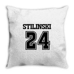 24 stilinski lacrosse Throw Pillow | Artistshot