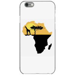 AFRICA GIRAFFE SUNSET iPhone 6/6s Case | Artistshot