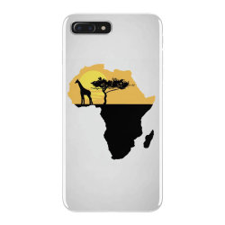 AFRICA GIRAFFE SUNSET iPhone 7 Plus Case | Artistshot