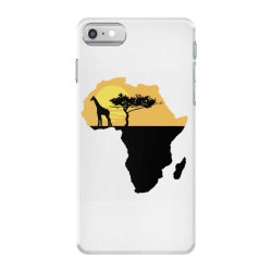 AFRICA GIRAFFE SUNSET iPhone 7 Case | Artistshot
