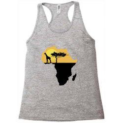 AFRICA GIRAFFE SUNSET Racerback Tank | Artistshot