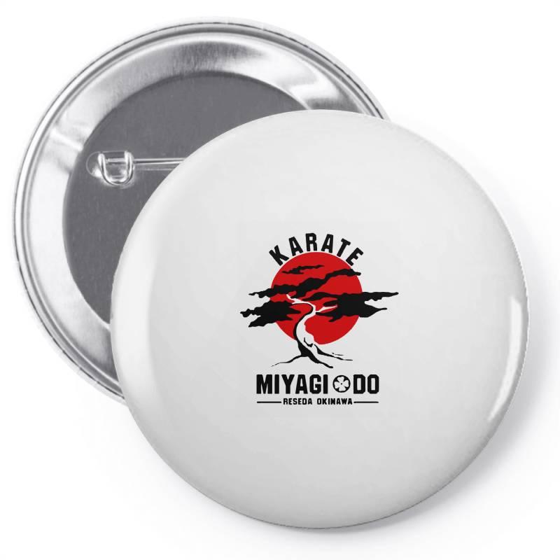Karate Miyagi Do Reseda Okinawa Pin-back Button | Artistshot
