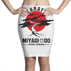 karate miyagi do reseda okinawa Pencil Skirts | Artistshot