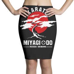 karate miyagi do reseda okinawa Pencil Skirts | Artistshot