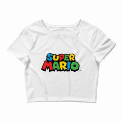 super mario Crop Top | Artistshot