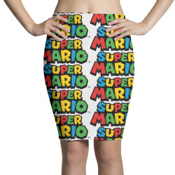 super mario Pencil Skirts | Artistshot