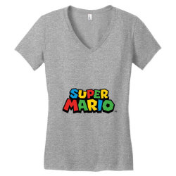 super mario Women's V-Neck T-Shirt | Artistshot