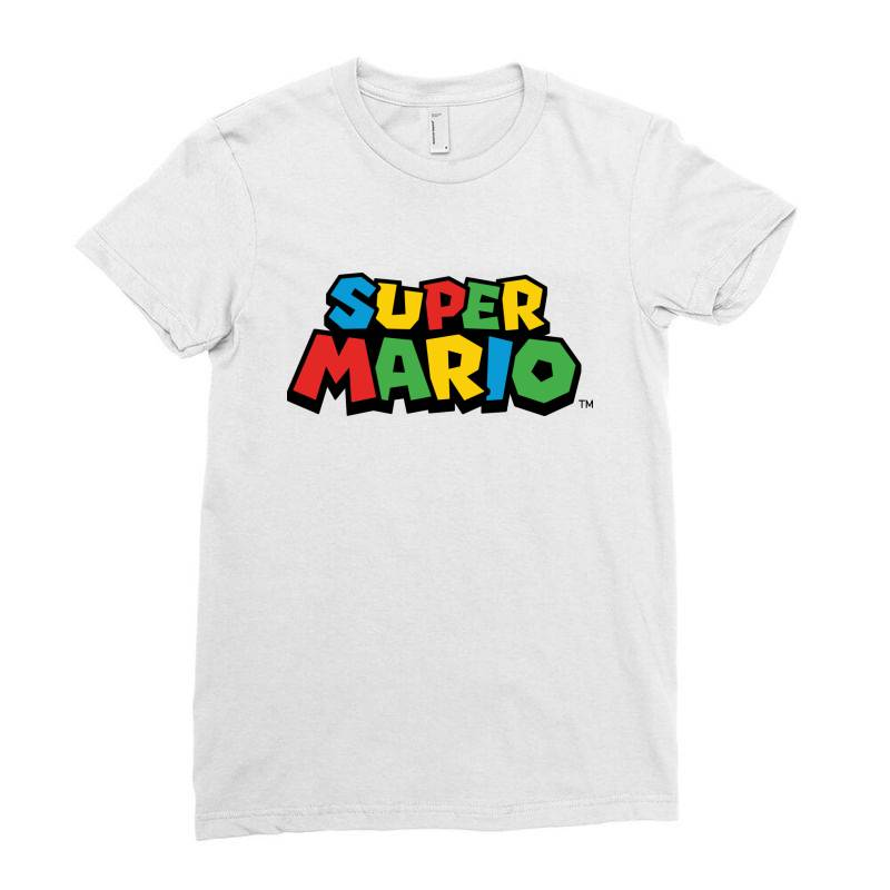 Super Mario Ladies Fitted T-shirt | Artistshot
