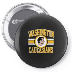 washington caucasians, washington caucasians  t shirt Pin-back button | Artistshot