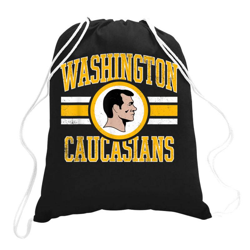 Washington Caucasians, Washington Caucasians  T Shirt Drawstring Bags | Artistshot