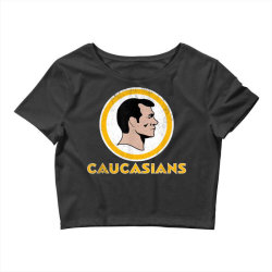 washington caucasians football rednecks washington caucasians t shirt Crop Top   Artistshot