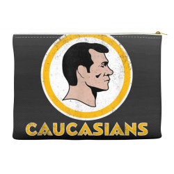 washington caucasians football rednecks washington caucasians t shirt Accessory Pouches | Artistshot