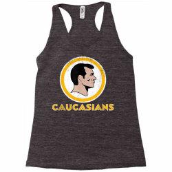 washington caucasians football rednecks washington caucasians t shirt Racerback Tank   Artistshot