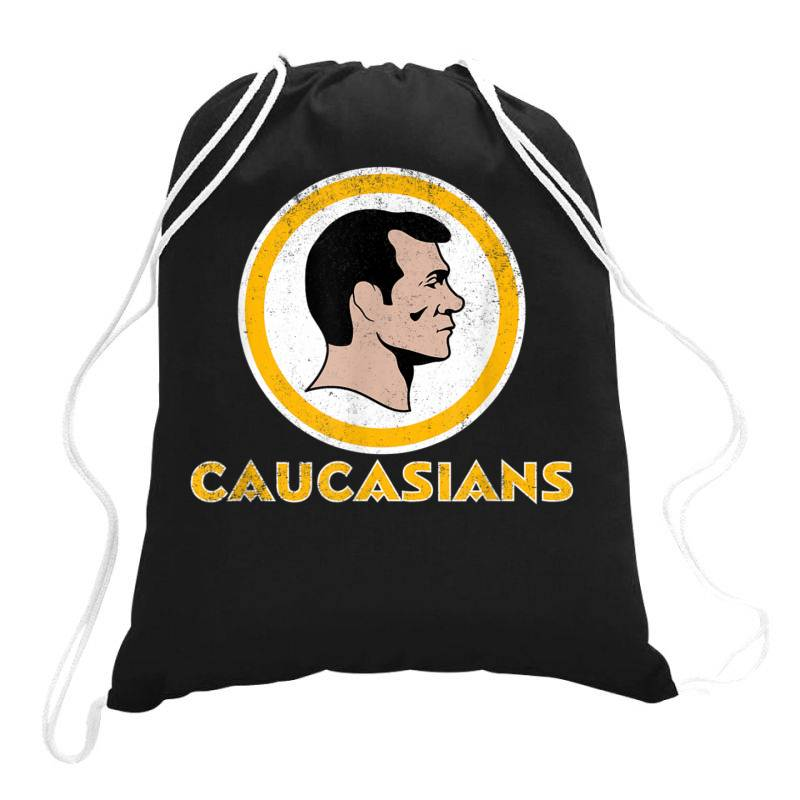 Washington Caucasians Football Rednecks Washington Caucasians T Shirt Drawstring Bags | Artistshot