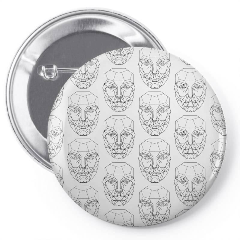 Mechanical Man Pin-back Button | Artistshot