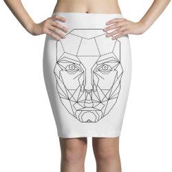mechanical man Pencil Skirts | Artistshot