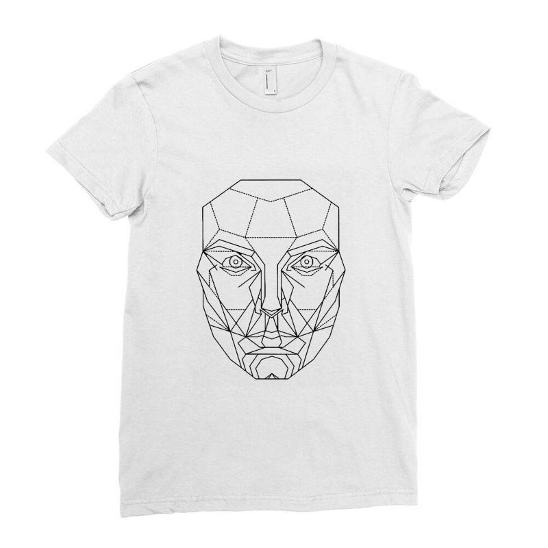 Mechanical Man Ladies Fitted T-shirt | Artistshot