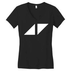 avicii for dark Women's V-Neck T-Shirt | Artistshot